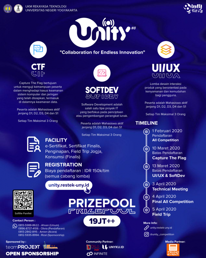 unity 8 competition 2020 uny